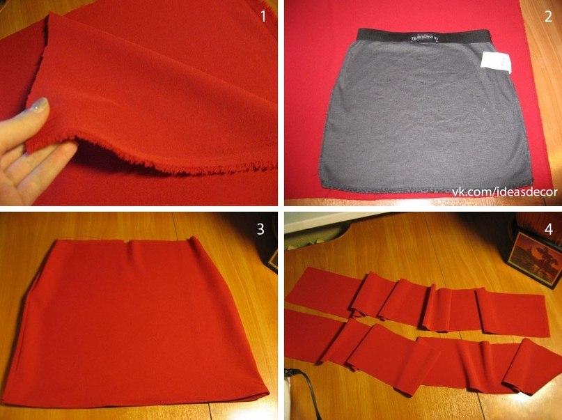 Как сделать юбку своими руками фото